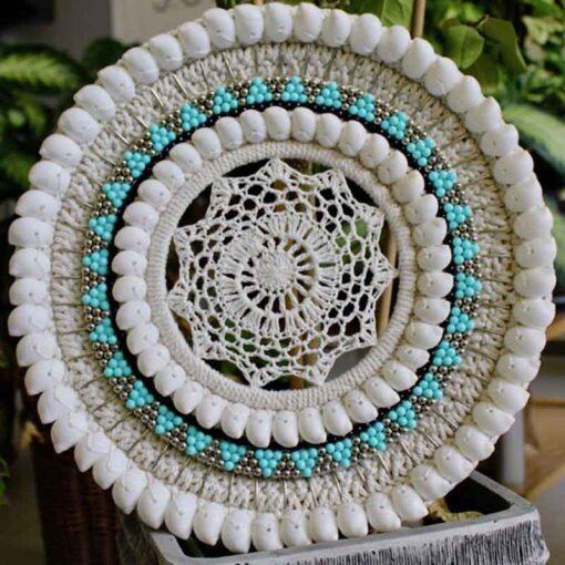 Crochet Shell Deko