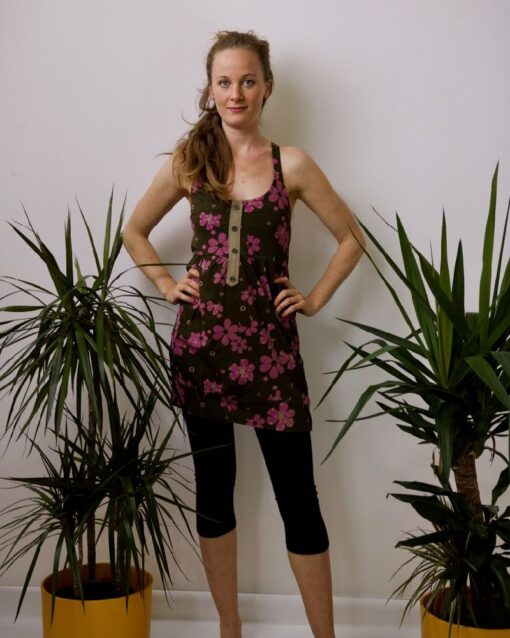 Flower Power Minikleid
