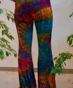 Forever Hippie Hose im Batiklook