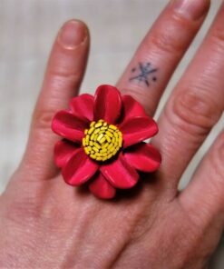 Happy Hippie Blumen Ring
