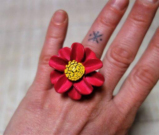 Happy Hippie Blumen Ring