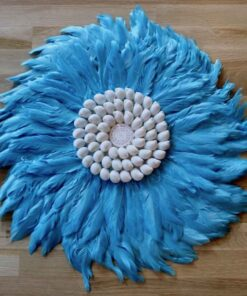 Indonesian Feathers Wanddeko