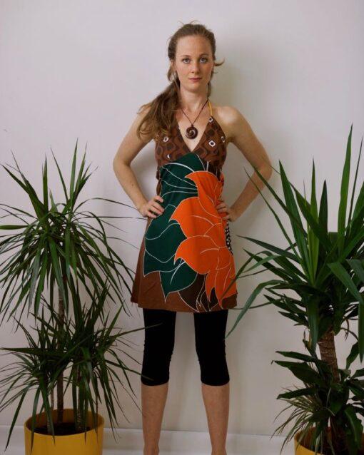 Neckholder Springparty Kleid