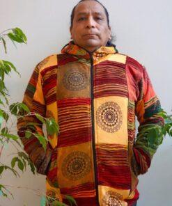 Patchwork Mandala Jacke