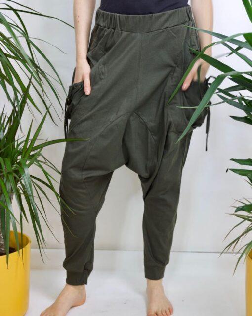 Produktbild Urban Aladinhose grüne Haremshose